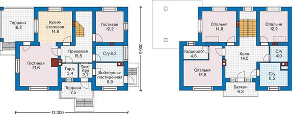 План первого этажа - проект Болонья