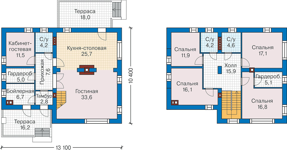 План первого этажа - проект Кунгэльв