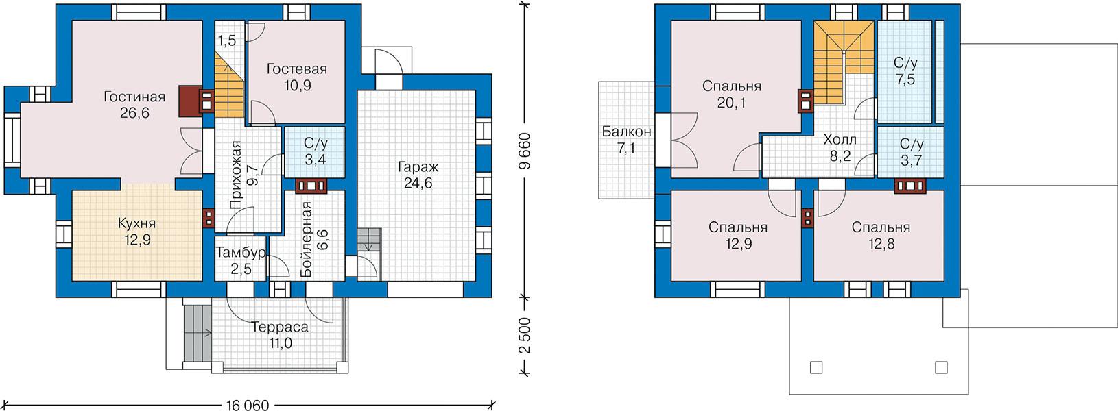 План первого этажа - проект Истад