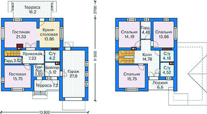 План первого этажа - проект Варберг