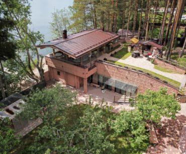 Проект Банный комплекс на берегу озера