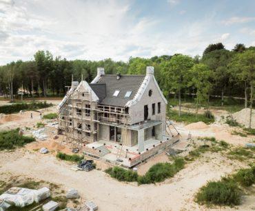 Загородный дом из Бельгийского кирпича ручной работы